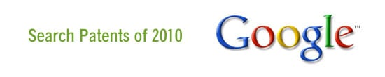 Google Search Patents of 2010