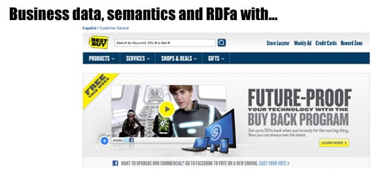Best Buy and RDFa