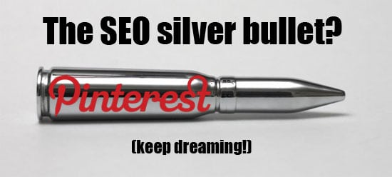 pintrest is not for seo