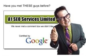 SEO scammers