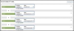 Blog segments