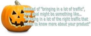 Focus your keywords