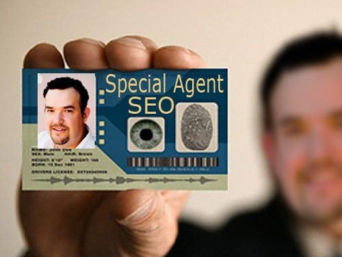 SEO Scret Agent Man