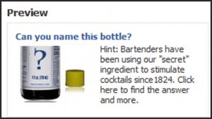 Angostura Bitters FB Ad