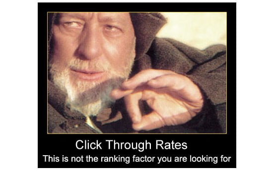 Are CTR a ranking factor?