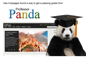 Hubpages Panda algo fix