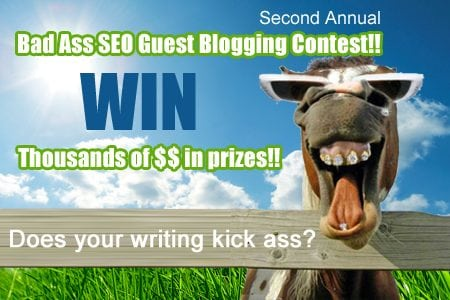 SEO blogging contest