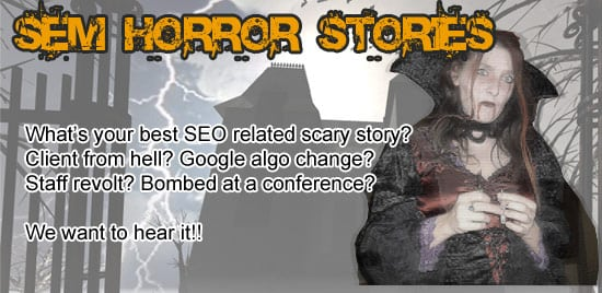 the SEO Haloween Contest