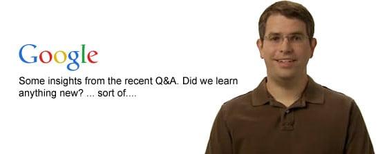 Matt Cutts speaks