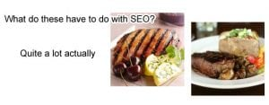 SEO food for thought