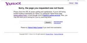 Yahoo Site Explorer Closes