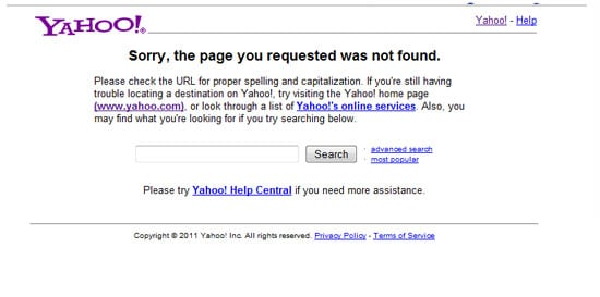Yahoo Site Explorer Closes