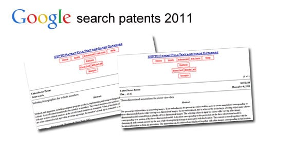 Google patents 2011