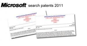 Microsoft search patents 2012