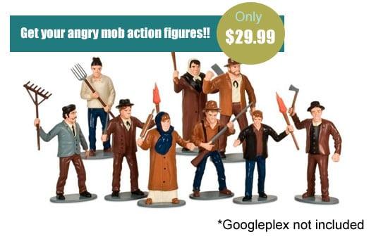 Angry Google Mob