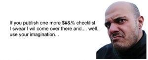 Stupid SEO checklists