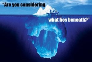 Are you considering what lays beneath surface in your SEO??