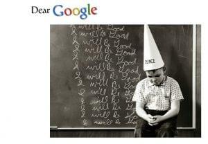 Dear Google