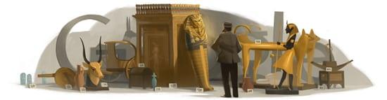 google tuts tomb doodle