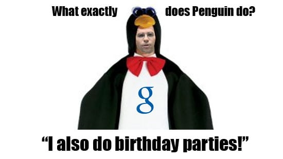 What does penguin do?
