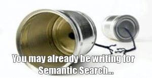 using semantic search