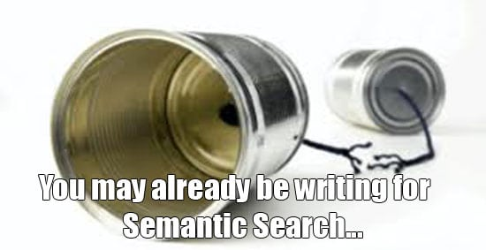 using semantic search