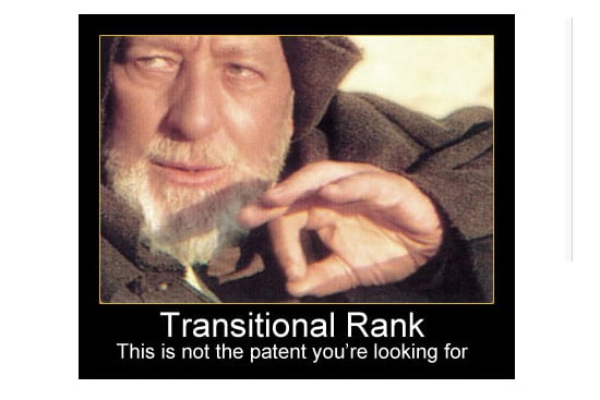 Obi Wan - not the patent you're looking for