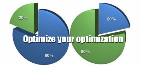 optimize with pareto analysis