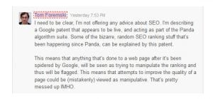 Zdnet responds on Google Plus