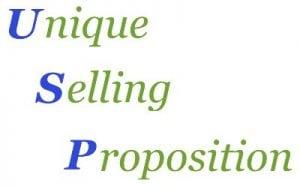 USP-Unique selling proposition
