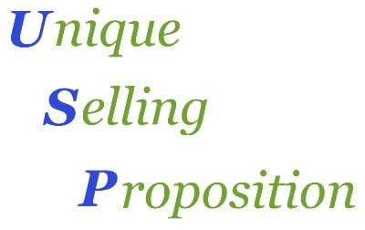 USP-Unique selling proposition