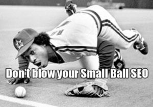 using small ball seo to your advantage