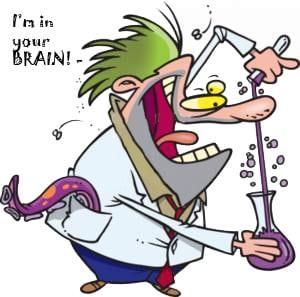 mad chemist in brain
