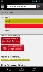 Browseo Android App