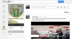 search news central on google plus