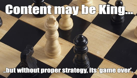 planned content is king