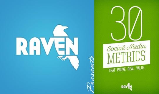 Raven presents 30 social metrics