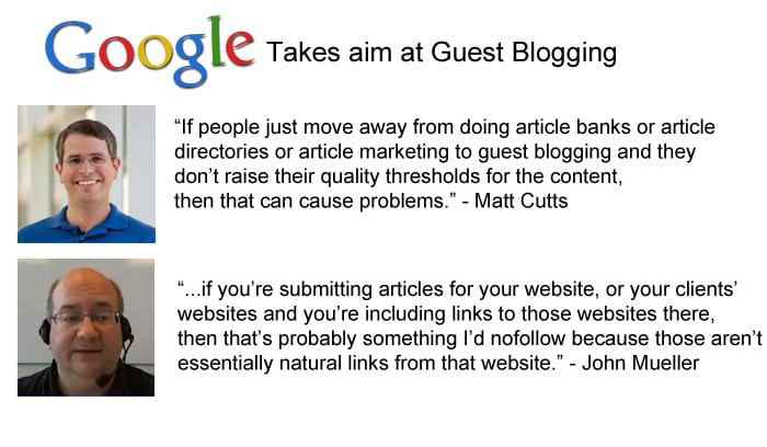 Guest Blogging and Google