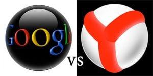 Google Vs Yandex
