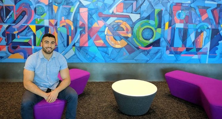 photo of Aaron Fawzy at LinkedIn