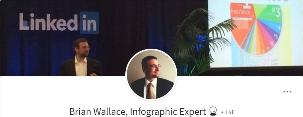 Brian Wallace's LinkedIn profile