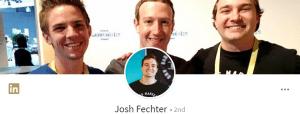 Josh Fechter's LinkedIn profile
