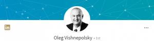 Oleg Vishnepolsky's LinkedIn profile