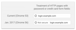 """""""i""""-icon for http sites with input fields"""