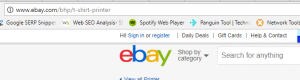 eBay not secure