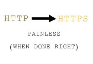 http to https migration is painless when done right