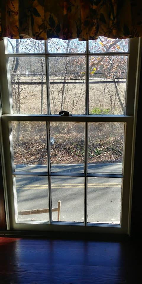 Window from farmhouse