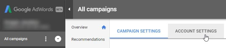 AdWords Ad Suggestion Opt Out - Image 2