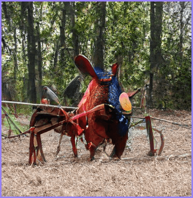 """""""Chicken-bug"""" compositional image"""